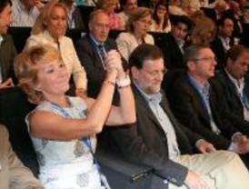 Aguirre ofrece llevar a Rajoy a la Moncloa pero reivindica su proyecto
