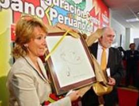 Aguirre y Vargas Llosa inauguran el centro hispano-peruano