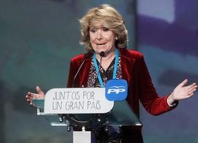 Aguirre defiende valores del PP que trajo Aznar, el