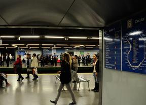 Comienzan los cortes por obras en las líneas 6 y 10 de Metro