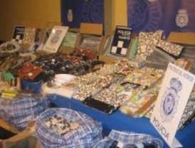 Incautados más de 1.700 objetos falsificados