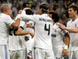 El Real Madrid acaricia las semifinales