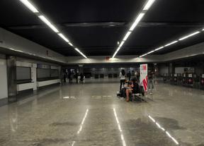El centro comercial y el aparcamiento de Nuevos Ministerios, en 2015