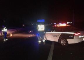 Fallece un motorista al chocar contra un quitamiedos en la M-40