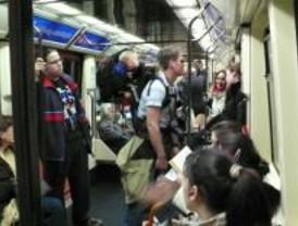 Los usuarios de Metro bajaron un 8,5% en febrero