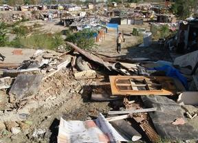 El Ayuntamiento vuelve a derribar chabolas en El Gallinero