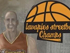 Baloncesto callejero en Lavapiés