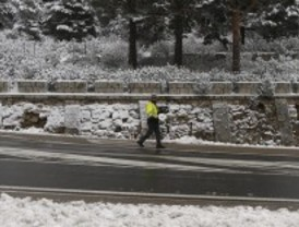 Alerta por la posibilidad de nevadas en la sierra este domingo