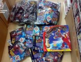 La Policía Nacional decomisa 47.000 juguetes falsos