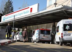 Entrada de urgencias del hospital Gregorio Marañón