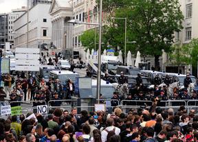 Manifestación frente al Congreso (25 de septiembre de 2012)