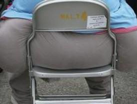 Los obesos prefieren vivir en la periferia