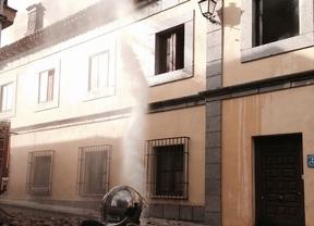 El incendio del Ayuntamiento de Brunete no ha afectado a ningún material que pueda afectar a la gestión municipal