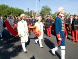Pozuelo homenajea a la bandera de España