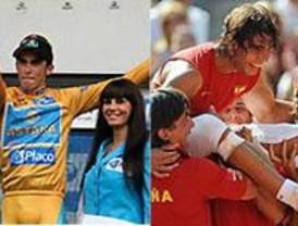 Contador y Nadal, protagonistas del domingo deportivo
