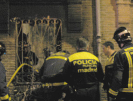 Noche de incendios en Madrid y Valdemorillo