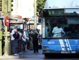 Los autobuses finalizarán antes el servicio en Nochebuena
