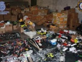 La Policía se incauta de 200.000 falsificaciones