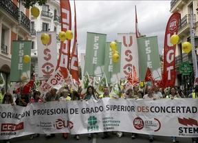 Manifestación por la FP concertada