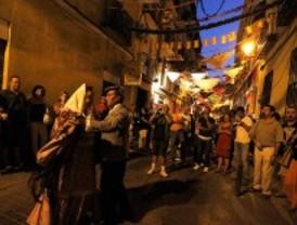 El centro de Madrid se prepara para las fiestas de San Lorenzo, San Cayetano y La Paloma