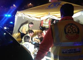 En estado crítico tras ser atropellado cerca de Plaza de Castilla