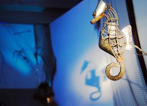 Una recreación reciclada del mundo acuático, en Teatralia