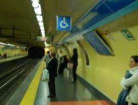 Suspendida la línea 1 de Metro entre Atocha y Tribunal