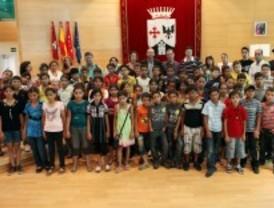Alcobendas recibe a 52 niños palestinos