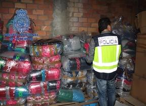 Cae la principal red de falsificación de prendas de ropa