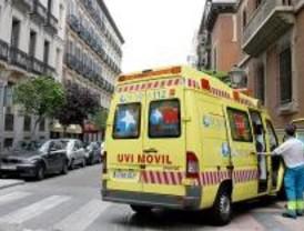 Muere una mujer atropellada por un camión en una calle de Móstoles