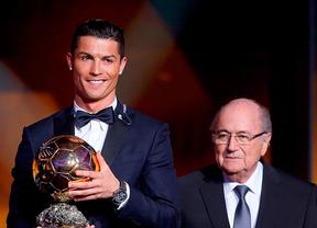 Cristiano Ronaldo obtiene su tercer Balón de Oro