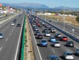La operación salida deja casi 70 kilómetros de carreteras con circulación lenta