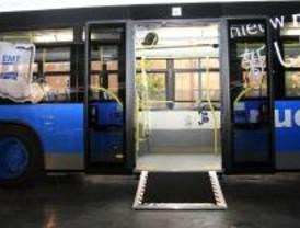 Todos los autobuses de la EMT serán accesibles desde agosto