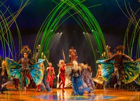El Circo del Sol estrenará en Madrid su nuevo espectáculo 'Amaluna'