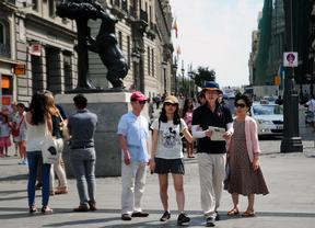 Los turistas puntúan con un 8,7 su estancia en Madrid