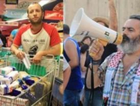 Partidarios y detractores de Gordillo, en Vallecas