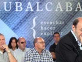 Rubalcaba: el déficit no es de izquierdas