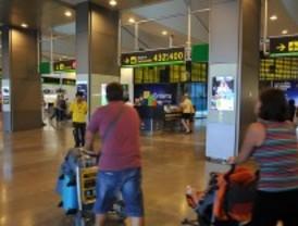 Barajas operará 6.312 vuelos estos días