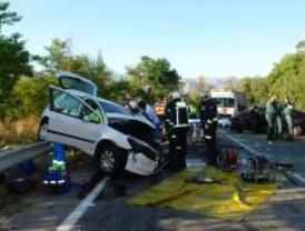 Fallece un anciano tras un accidente de coche en Moralzarzal
