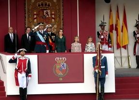 El primer 12 de octubre de Felipe VI como rey recupera el desfile aéreo