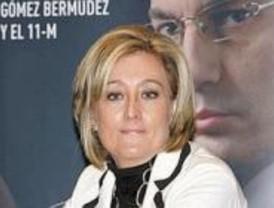 Despedida la mujer de Gómez Bermúdez por su libro del 11-M