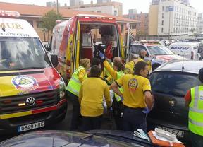 Continúa muy grave el bebé arrollado por una furgoneta en Las Tablas