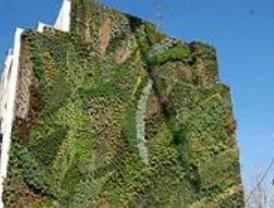 El jardín vertical del paseo del Prado