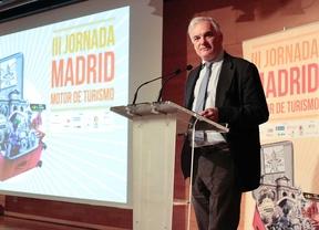 Ponencia 'La incidencia del turismo en la industria y el comercio madridleños' de Miguel Garrido.