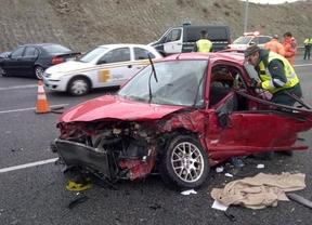 Herido grave un joven en un aparatoso accidente en la M-31