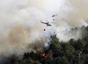 Se cumple un año del gran incendio de Robledo