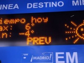 Un frente de frío siberiano llega a Madrid