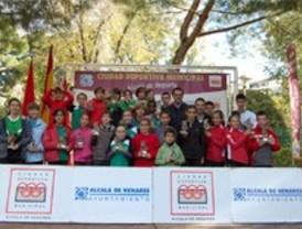Casi 300 niños participaron en el primer cross de Alcalá