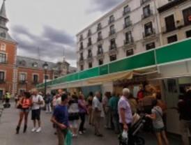 Mercado gastronómico en el centro de Madrid
