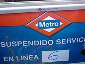 Las obras del cambio de la catenaria provoca el cierre de cinco estaciones de la línea 6
